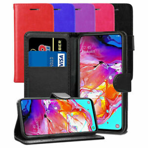 For Samsung Galaxy Mobile Phone Leather Wallet Case Flip Book with Card Holders