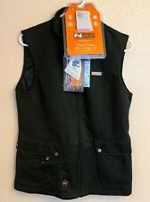 Women's Bluetooth Heated Insulate Vest with Battery & Charger 7.4V LARGE L Black