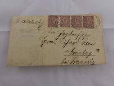 Alt Brief Stempel Preussisches Amtsgericht Havelberg Dienst-Marken 1921 Tramitz