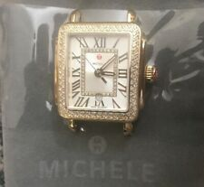 MICHELE Deco Madison Mid Gold Diamond  MW06G01B0018 Watch Diamond Weight - 0.60