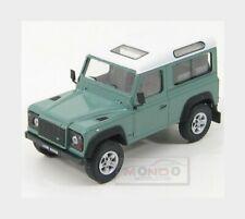 Land Rover Land Defender 90 1983 Green White HONGWELL 1:43 HG55250