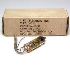 Raytheon 6021/ecc70 Audio subminiatur-tube, double-triode, nos