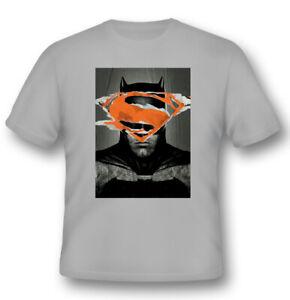 Batman V Superman - Batman Affiche T-Shirt Unisexe Taille L 2BNERD