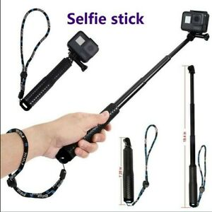 Selfie Pole Extendable Telescopic Monopod Stick for GoPro Hero 8 7 6 5 4 Camera