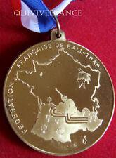 MED3731 - MEDAILLE FED. FANÇAISE DE BALL-TRAP championnats de ligue SKEET 1986