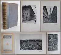 Mauclair: Florenz mit 84 Bildbeilagen 1914 - Italien, Ortskunde, Geschichte - xz