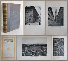 Mauclair: Florencia con 84 Inserta imagen 14 Italia,Ortskunde,Historia xz