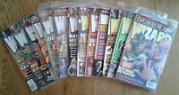 WIZARD COMICS MAGAZINES of 2005 w/ Mega Movie Issue, specific covers shown