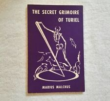 The Secret Grimoire Of Turiel 1960 1st. Edition, Occult, Magick, Witchcraft