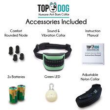 Dog Mini Anti Bark Collar with FREE LED Light by TopDog, Small, Medium Dogs