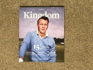 NEW No Label Arnold Palmer Kingdom Magazine #42 15th Anniversary Issue