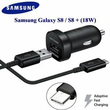 Samsung Adaptive fast charge (18W) Mini car charger Glalaxy S8,S9,S8 plus, Note7