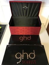 Genuine Ghd Scarlet Edition Straightener box Only Deluxe Edtion