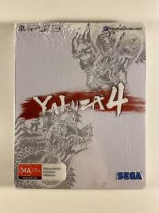 Yakuza 4 Shiro Steelbook Edition PS3 GC PAL