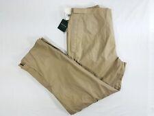 NWT Brooks Brothers Golf Nylon Biege Mens Pants sz XL W38 $120 Adjustable Waist