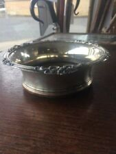 Georgian Antique Silver Plate Dishes/Coasters
