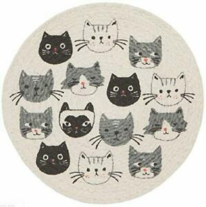 Now Designs Cats Meow Braided Trivet (2051001)