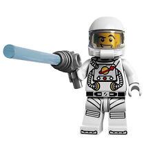 *NEW* Lego Series 1 Spaceman Rare Minifigure w Blue Laser Gun Figure Fig  x 1