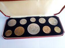 More details for 1953 10 coin uncirculated coin set elizabeth ii united kingdom