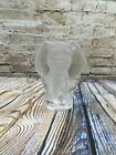"""MATS JONASSON Lead Crystal ELEPHANT 5 1/2"""" Tall Signed PAPERWEIGHT Sweden"""