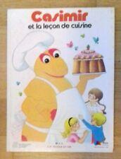 CASIMIR ET LA LEÇON DE CUISINE L'île aux Enfants - G.P. Rouge et Or 1978 - TTBE