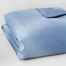 NEW Oake Radiant 400 Thread Count 100% Pima Cotton Twin Duvet Cover Blue A372