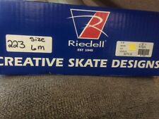 Riedell 223 Stride Figure Skate Size 6 M - Excellent condition