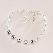 personalisiert erste heilige Kommunion Armband Baby Mädchen Taufe Geschenk