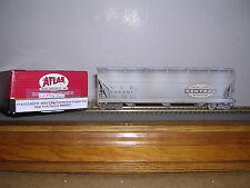 Atlas #1403-2 N.Y.C. Acf 3-Bay C.F.Hopper Car #886801 Weathered H.O.Gauge