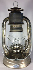 "NEW Unfinished 13 3/4"" tall Dietz # 8 Air Pilot Oil Kerosene Lantern + wick"