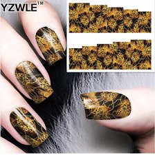 Nail Art Stickers Transfers Decals Neural Patterns (A-81)