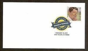 US #4494 DCP FDC Reagan 2011 [Digital Color Postmark]