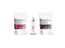 Getrocknete Rosenblätter, Rosenblüten & Rosenwasser der Marke Rosie Rose
