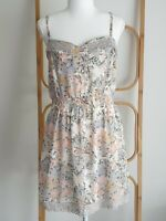Portmans Y2K Floral Boho Sleeveless Dress Size 14