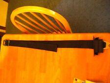 MOPAR 1972 E/A body black SEAT LAP BELT AND BUCKLE 3670789 NICE!