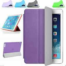 "Slim Leather Smart Case Cover For iPad 9.7"" 2 3 4 5th 6th Generation Mini Air 12"