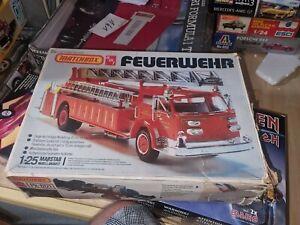 Matchbox AMT 1/25 Bausatz Kit American Lafrance Ladder Feuerwehr in O-Box #3419