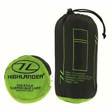 Highlander  Sleeping Bag Liner - White