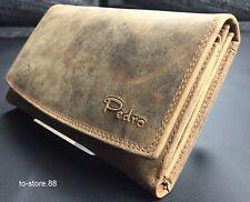 Geldbörse Portmonee Portemonnaie Geldbeutel Damen Echt Leder – Pedro