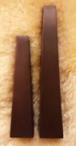 "2 Pottery Barn Bronze Color Metal Taper Candlesticks pyramid geometric 10"" & 13"""