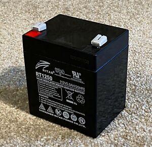 Ritar RT1250 - Brand new battery - 12V 5AH / cube shape