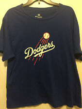 Fanatics L.A. Dodgers Blue & White Size LARGE T-Shirt
