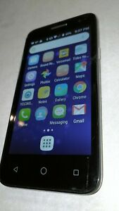Alcatel OneTouch Elevate 5017B, BOOST MOBILE, Silver EXCELLENT SHAPE WORKS GREAT
