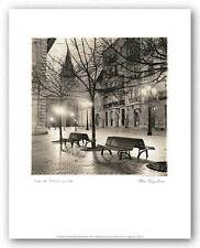 PHOTO ART PRINT Plaza de Porlier by Alan Blaustein