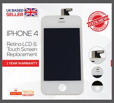 Para iPhone 4 whitetouch Pantalla LCD Pantalla Digitalizador Conjunto Recambio