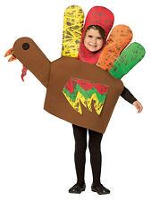 Hand Turkey Child Funny Costume Full Head Tunic Halloween Dress Up Rasta Imposta