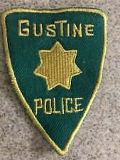 Gustine California Police Patch