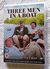 THREE MEN IN A BOAT AND THREE MEN IN ANOTHER BOAT (DVD, 2-DISC) R-2, LIKE NEW