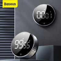Baseus Kurzzeitmesser LCD Stoppuhren Magnetisch Küchentimer Eieruhren Countdown