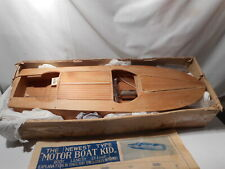 Very OLD Wood Boat Kit